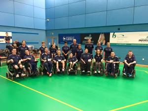 Scottish Team at the 2016 GB Boccia Championships