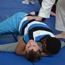 Judo hold down