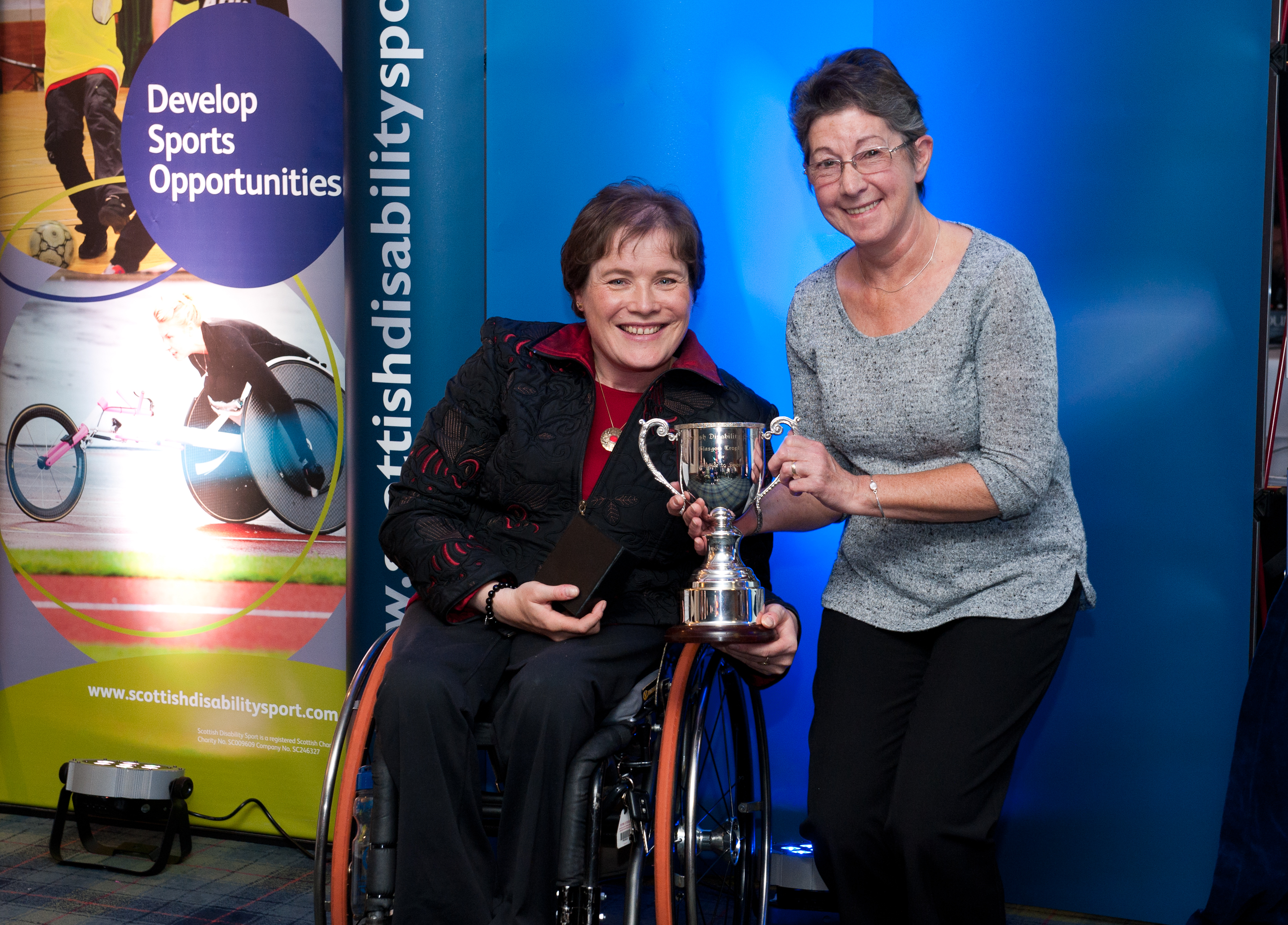 Pauline Stirling, winner of Glasgow Trophy 2014