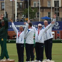 VI Lawn Bowls medal ceremony (4)