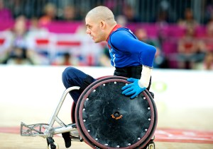 Michael Kerr at the London 2012 Paralympic Games