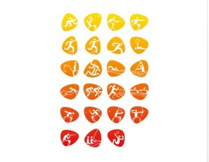 Rio Paralympic Games pictograms