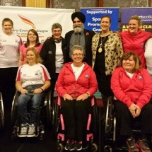Group photo of Women's Warriors team