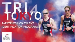Tri 4 Tokyo poster featuring Alison Patrick and Hazel Smith