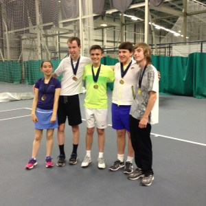 Frances Smiley, Alastair Ramsey, Jack Dickson, Ronan Cacace and Matthew Copley