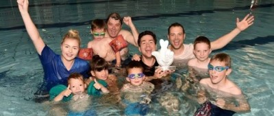 Deaf-Friendly Family Pool Party