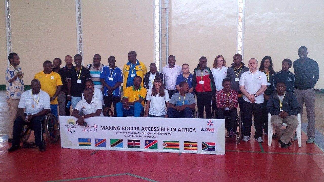 Scots Tutors Making Boccia Accessible in Rwanda