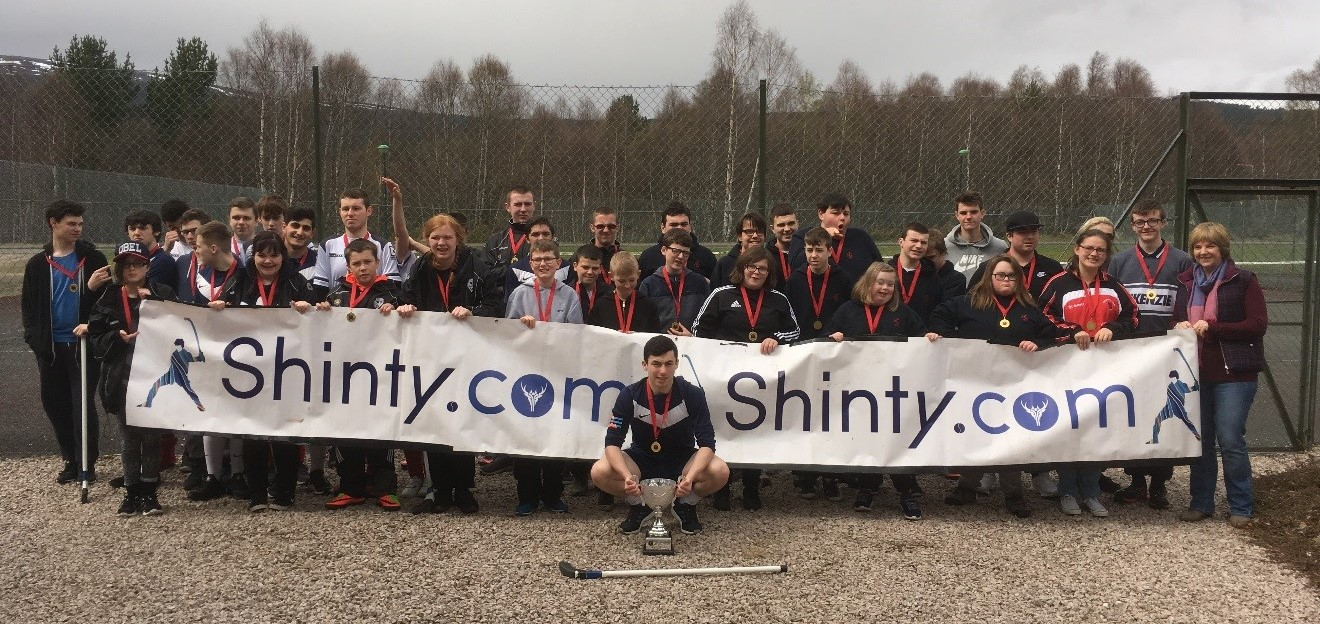 Abercorn School Retain National Disability First Shinty Festival