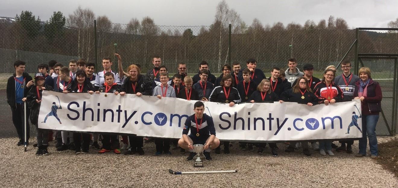 Abercorn School Retain National Disability First Shinty Festival