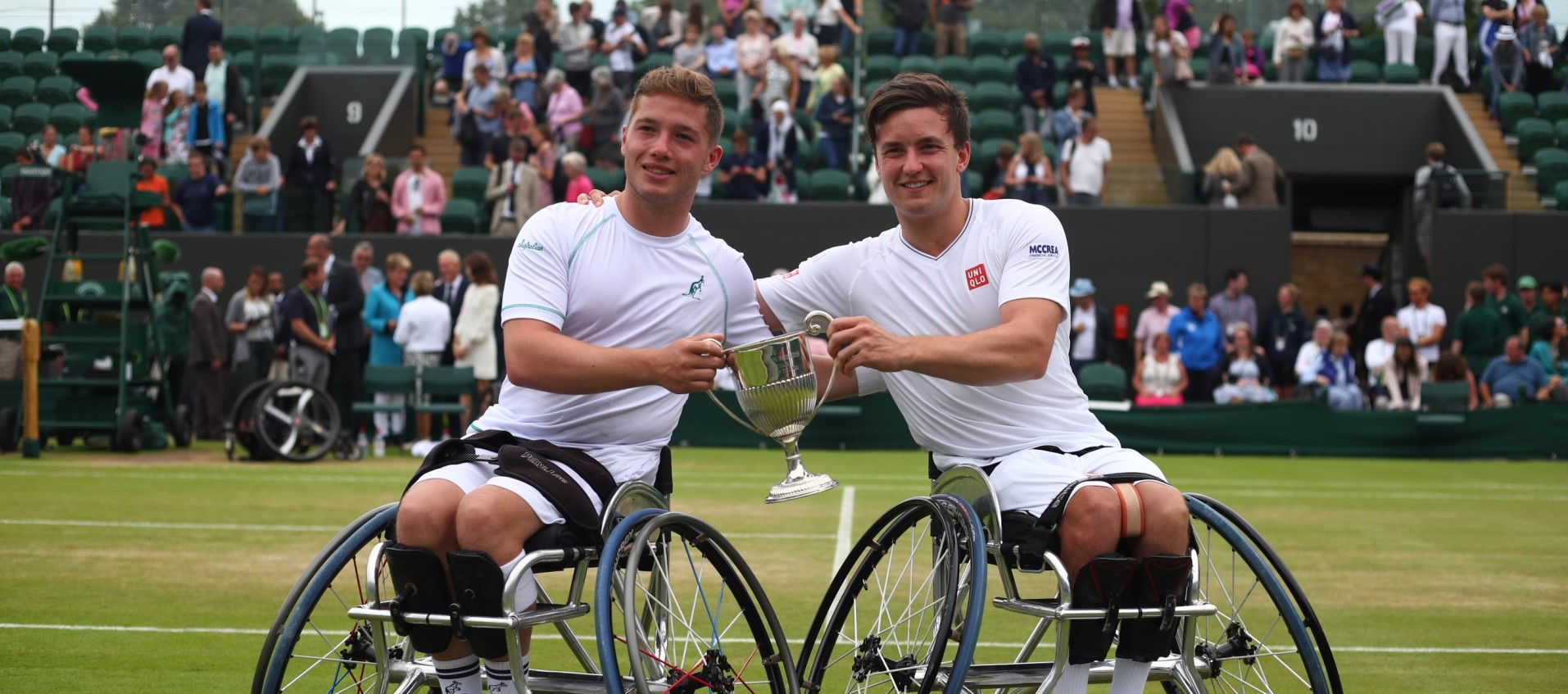 Brits Hewett and Reid Retain Wimbledon Doubles Title in Thrilling Final
