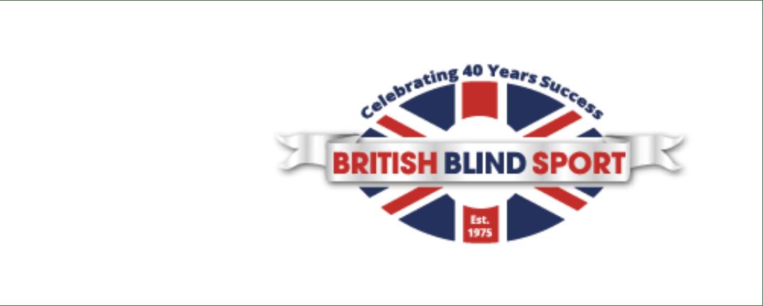 British Blind Sport Participation Officer