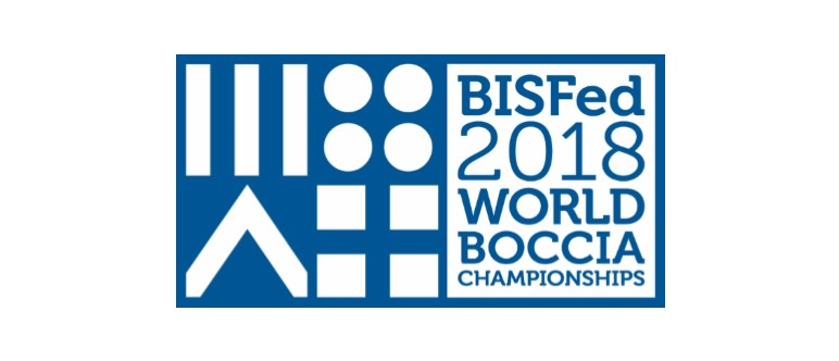 2018 BISFed World Boccia Championships Logo Revealed
