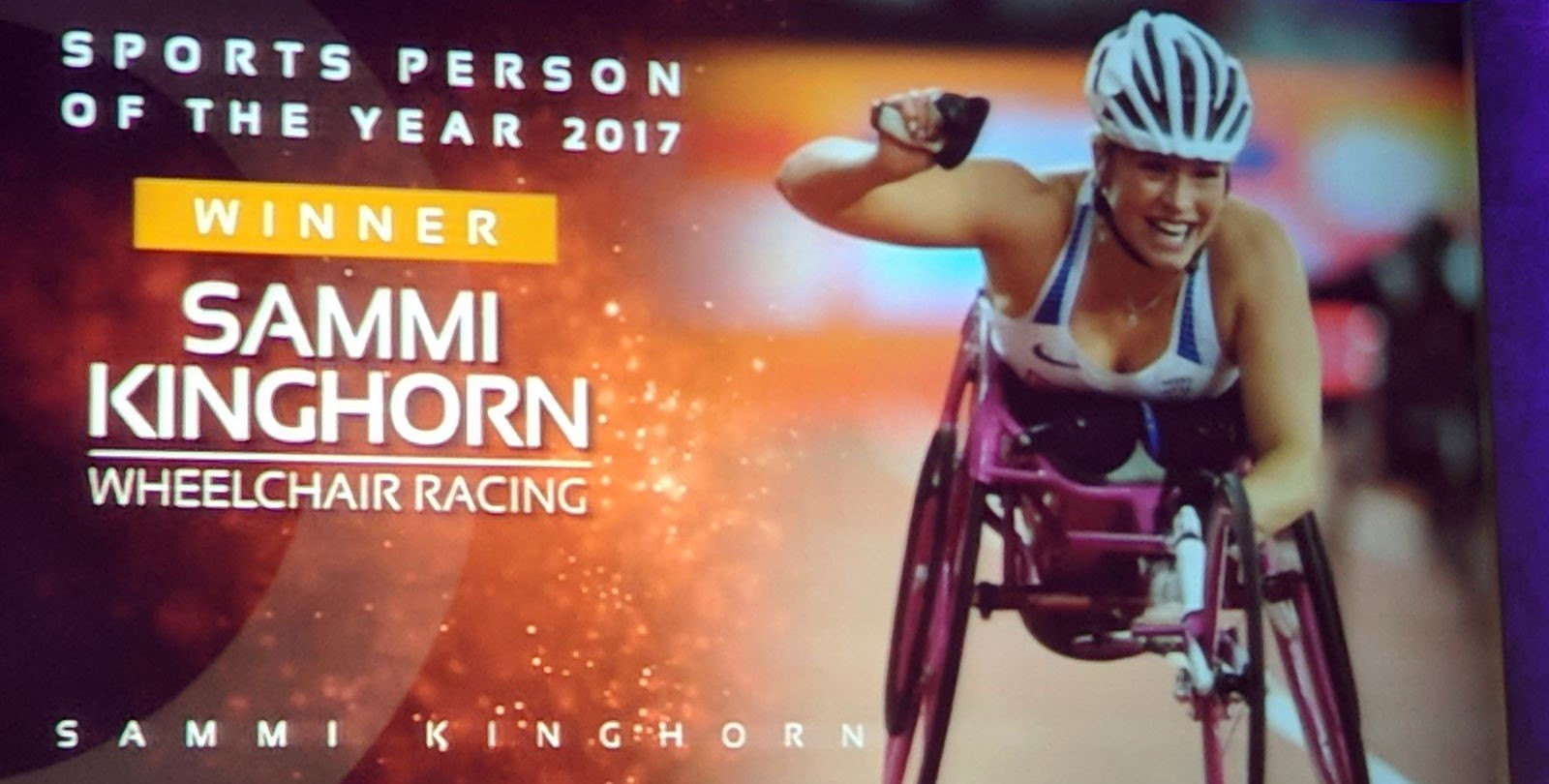 Success at Glasgow Sports Awards for Sammi Kinghorn and Ian Mirfin MBE