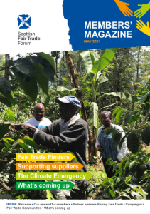 Front page Members' Magazine May 2021