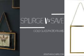 Cheap Gold photo frame