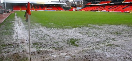 Tannadice - Waterlogged