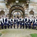 Essex and London Scottish Bagpiper