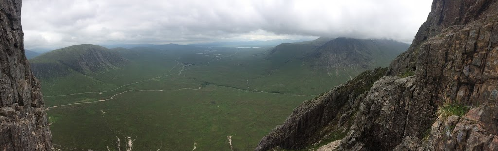 A Big Day Out in Glencoe and Some Similarities Between Climbing and Swimming