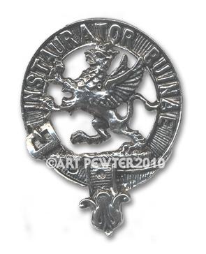 Forsyth Clan Crest Badge