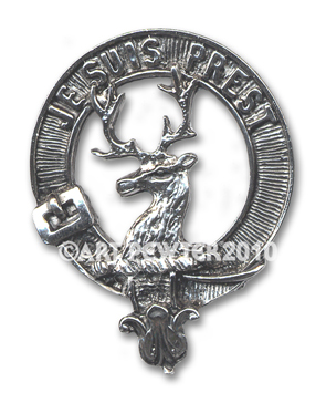 Fraser of Lovat Clan Crest Badge