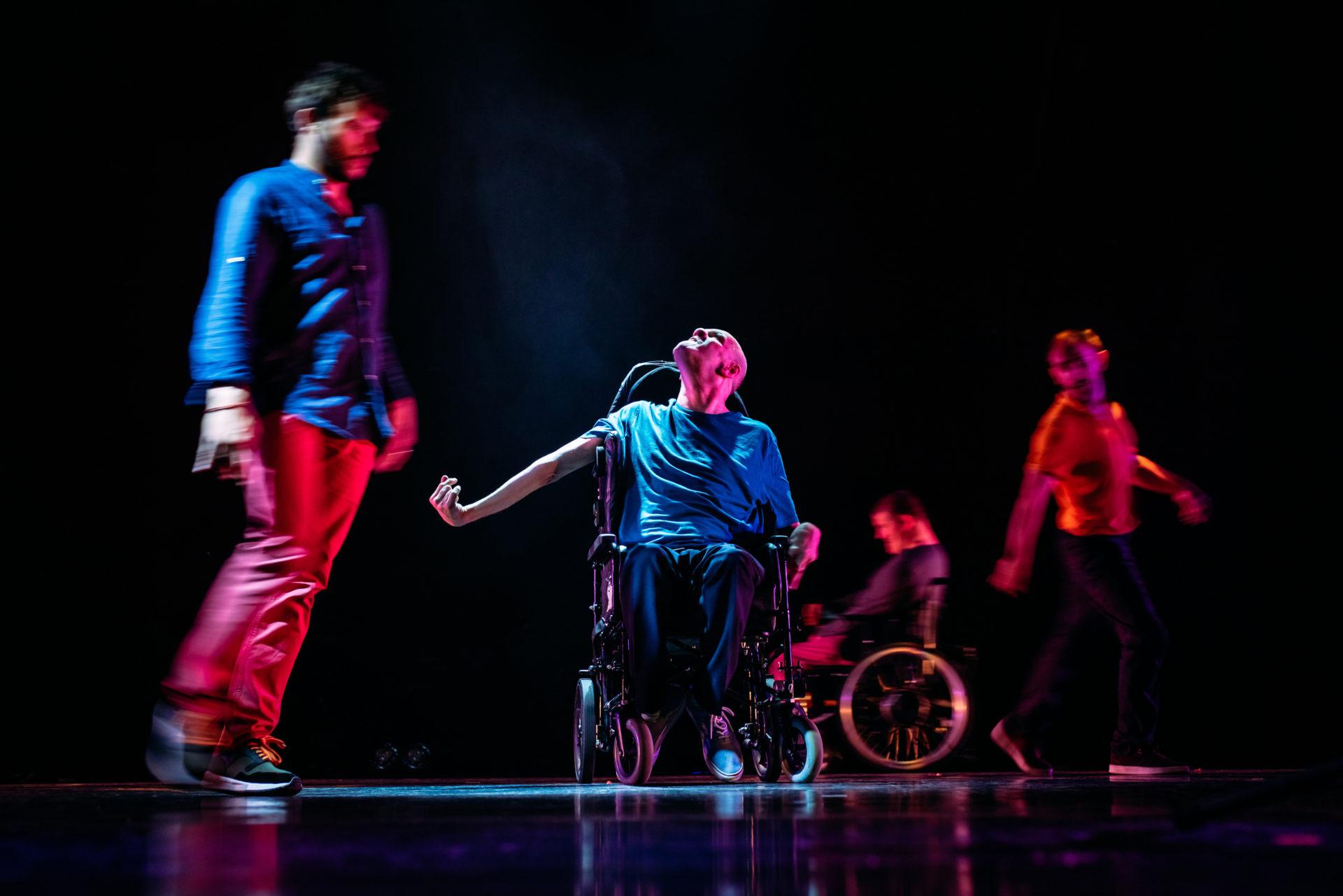 Purposeless Movements, Birds of Paradise Theatre Company, pic. Mihaela Bodlovic