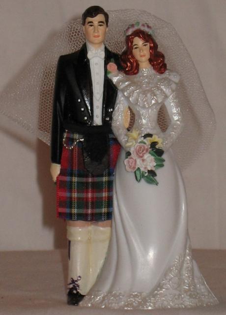 Scottish Wedding Topper The Scottish Trading Company