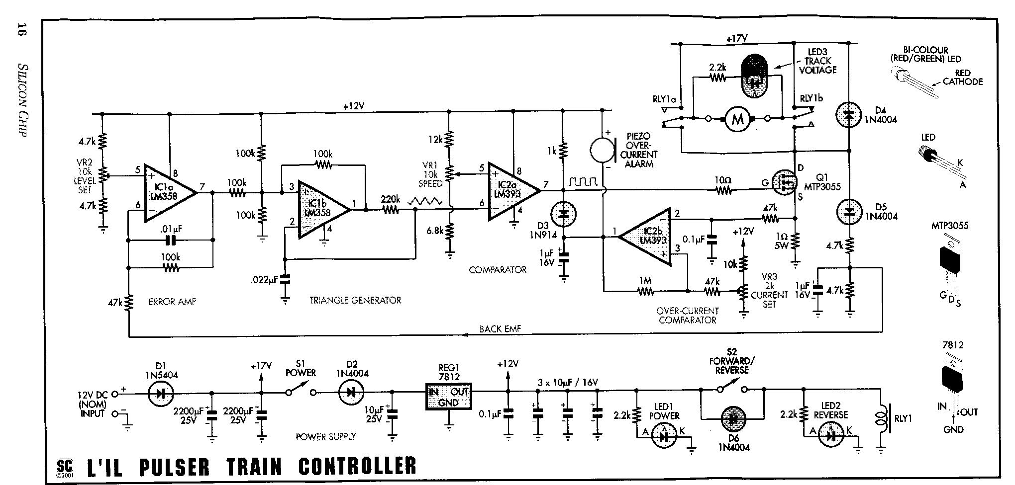 Pulse Train Controller