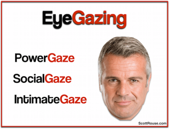 scott rouse - body language - expert - eyes - eye gazing - eye gazes - business meetings
