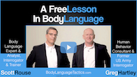 Greg Hartley and Scott Rouse Free Body Language Lesson