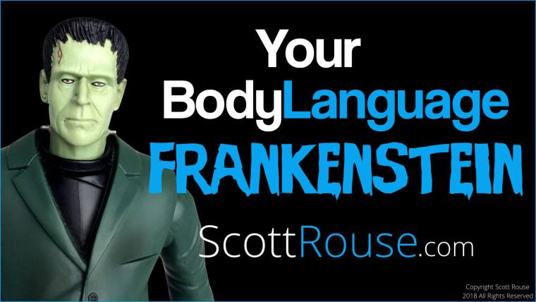 Scott Rouse - Body Language Expert - Analyst - Keynote Speaker - Professional Speaker - Author - Your Body Language Frankenstein