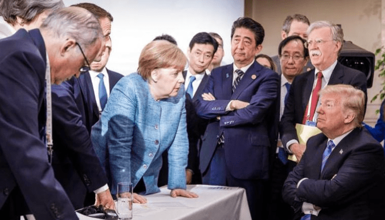 Scott Rouse - Body Language Expert - Speaker - Trump - G7 - Arms Crossed - Crossed Arms