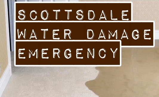 Scottsdale Water Damage Emergency