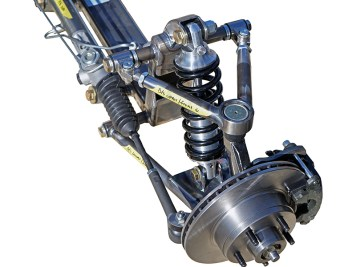 coilover independent front suspension front steer