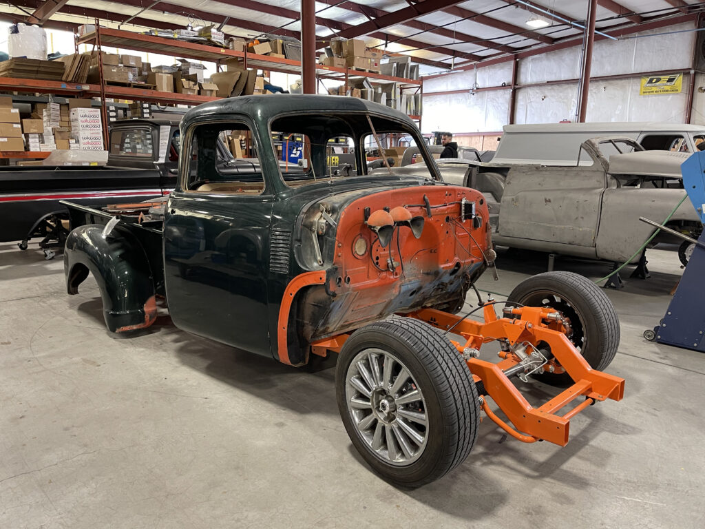scotts hotrods 50 chevy project truck