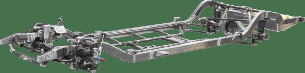 scotts hotrods oldsmobile olds 88 superslam chassis frame mandrel bent