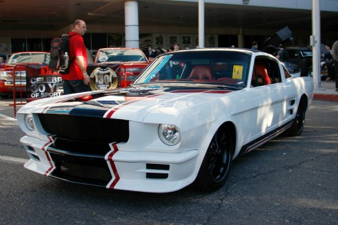 scotts hotrods, mustang, custom built, sema, sema build, vendetta, ford mustang, OUSCI