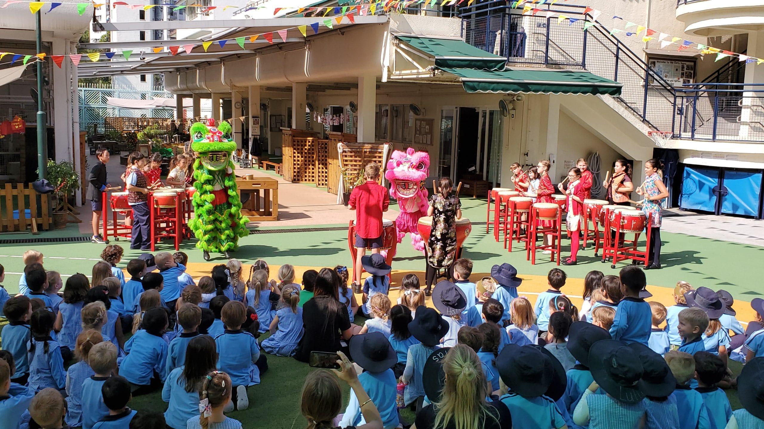 Chinese New Year Celebrations Discovery Bay International School Hong Kong