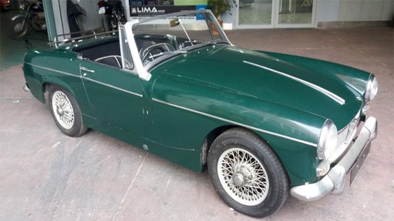Mg midget car parts