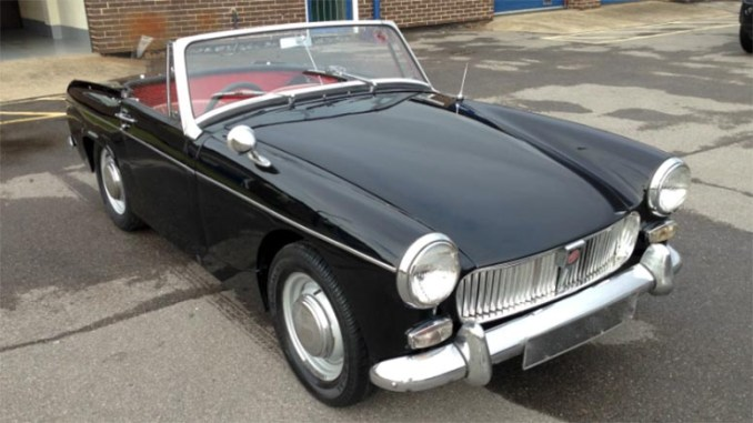MG Midget Mk 1 Parts Manual