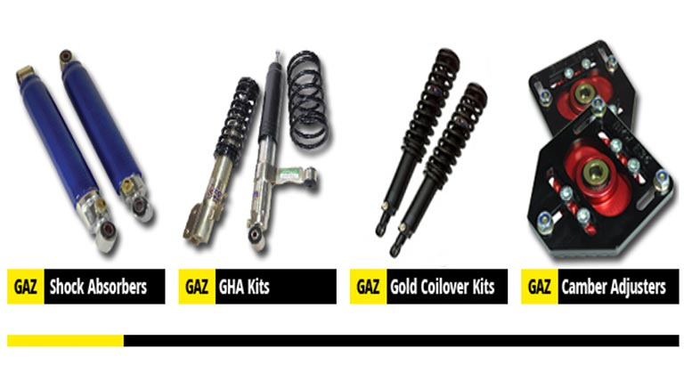 GAZ Shocks Range