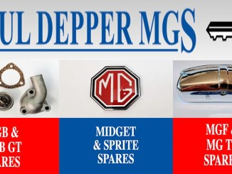 PAUL DEPPER MG SPARES