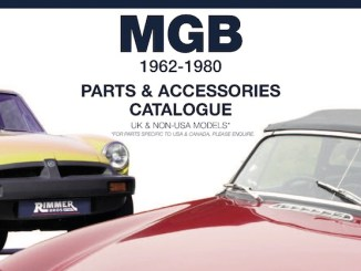 MGB Parts GUIDE - RIMMER on SCOTTYS Supplier Library PIC2