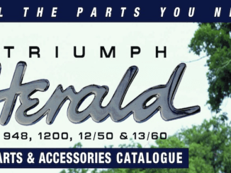 TRIUMPH HERALD PARTS RIMMER GUIDE on SCOTTYS Supplier Library