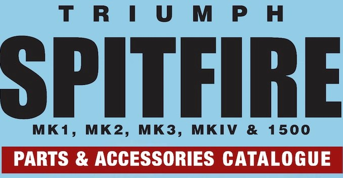TRIUMPH SPITFIRE PARTS GUIDE - RIMMER on SCOTTYS Supplier Library PIC1
