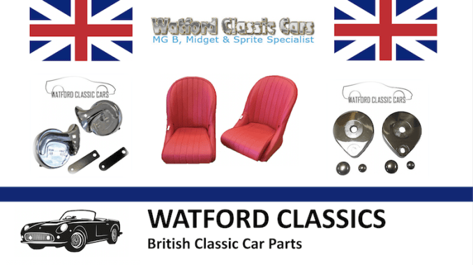 WATFORD CLASSIC CARS on SCOTTYS Supplier Library