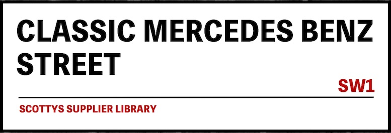 CLASSIC MERCEDES BENZ PARTS SUPPLIERS