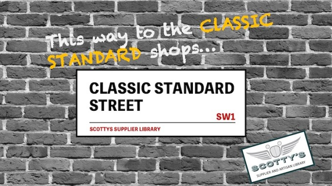 CLASSIC STANDARD PARTS SUPPLIERS