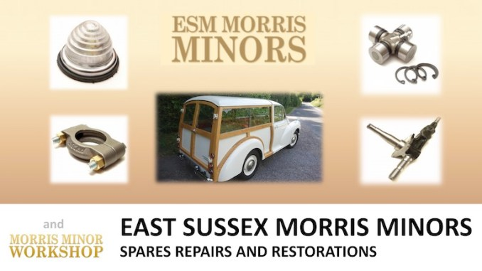 EAST SUSSEX MORRIS MINORS on SCOTTYS Supplier Library pic2