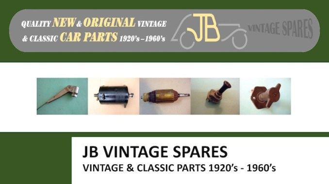 JB VINTAGE SPARES in SCOTTYS Supplier Library