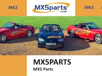 MX5 PARTS in SCOTTYS Supplier Library
